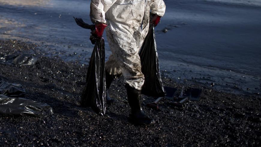 На ликвидацию последствий утечки мазута на Сахалине уйдет два дня