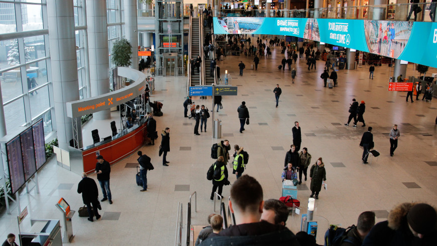 аэропорт, домодедово, эскалатор, люди, туристы, пассажиры,
