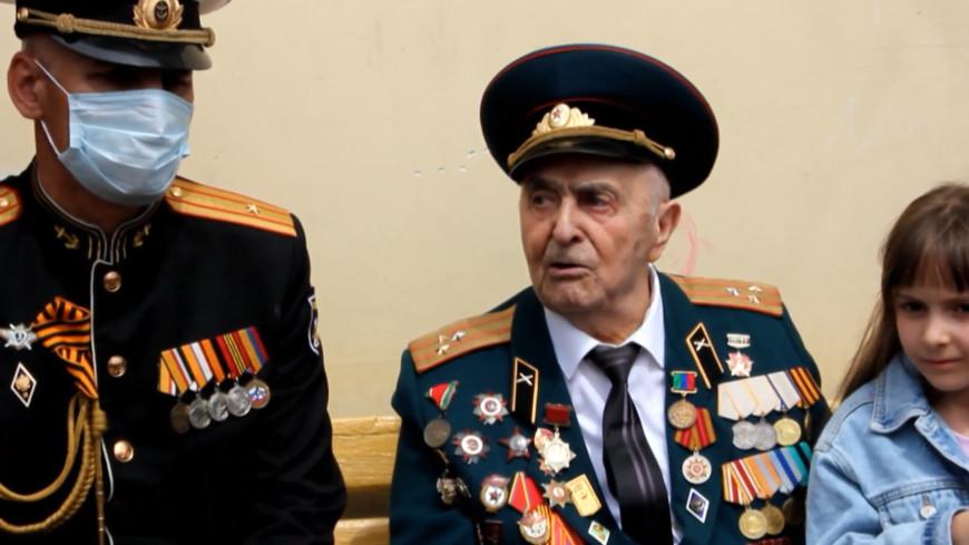 Морские пехотинцы поздравили 97-летнего ветерана из Дагестана, освобождавшего Болгарию и Чехословакию