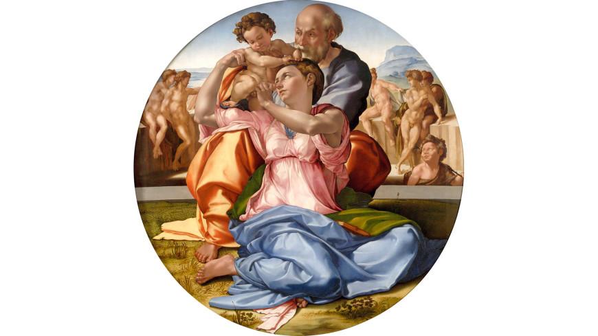 Цифровую копию картины Микеланджело «Мадонна Дони» продали за $170 тысяч