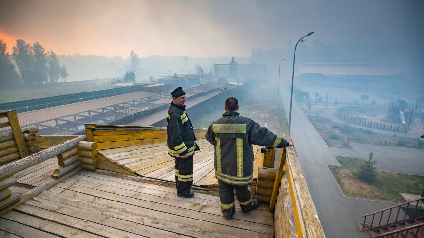 Зоопарк под Тюменью спасли от природного пожара