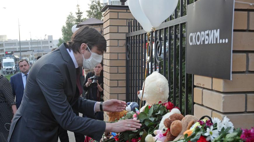 Кравцов отметил самоотверженность учителей и директора школы в Казани