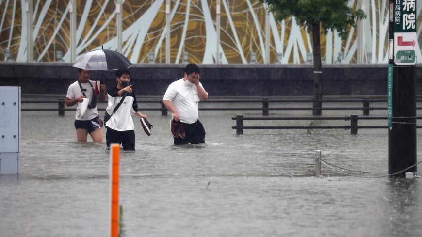 Из-за ливней жители западной части Японии получили указание эвакуироваться