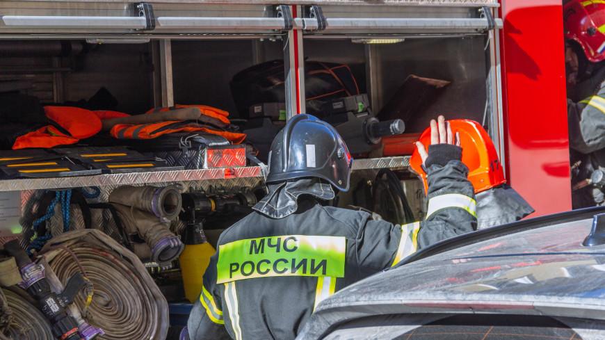 МЧС России: Пожар в гостинице в Петрозаводске потушен