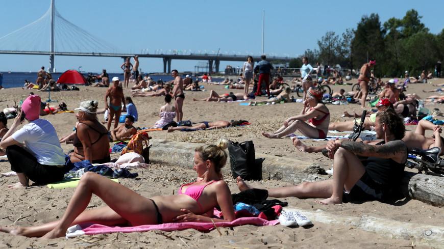 В Петербурге началась подготовка пляжей к летнему сезону