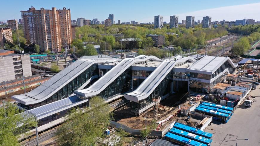 Станцию «Щукинская» МЦД-2 откроют для пассажиров в июне