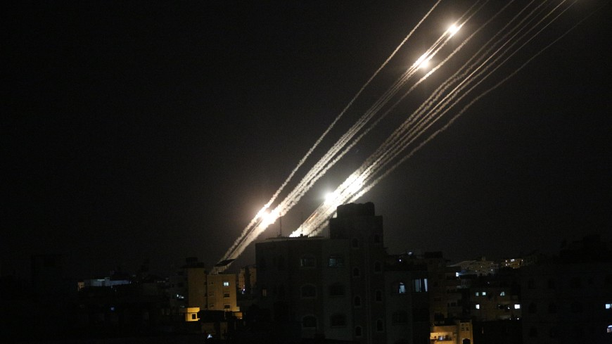 Более тысячи ракет выпустили по Израилю из сектора Газа