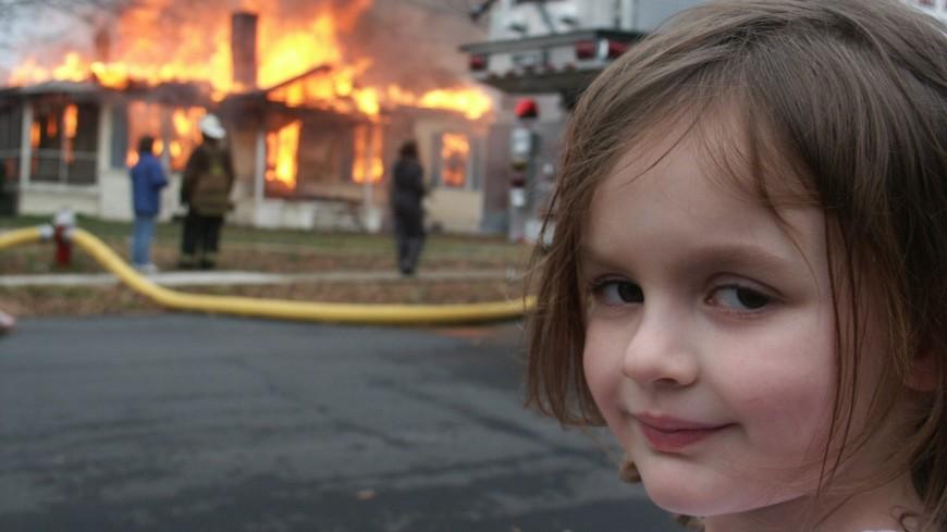 Героиня мема «Девочка-катастрофа» продала изображение за $500 тысяч