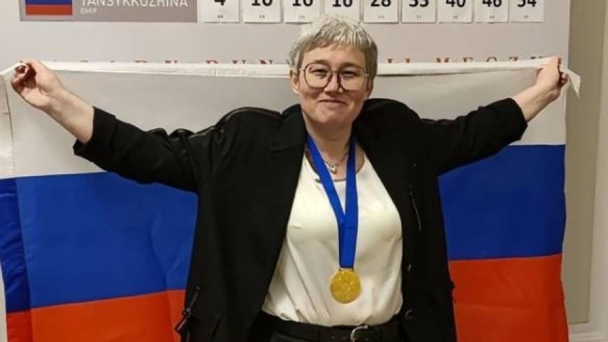 Россиянка Тамара Тансыккужина отстояла титул чемпиона мира по шашкам