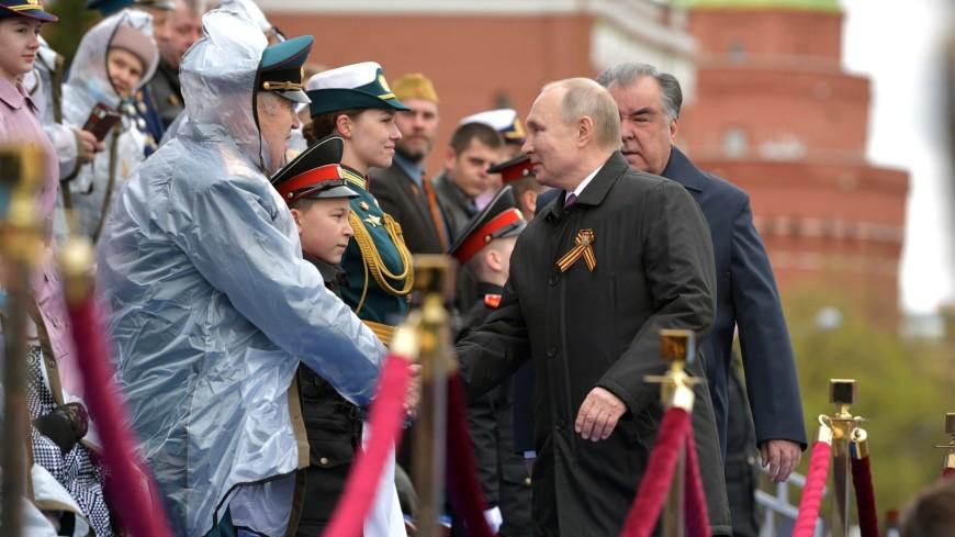Ветеран Мария Фаустова рассказала о разговоре с Путиным после парада Победы