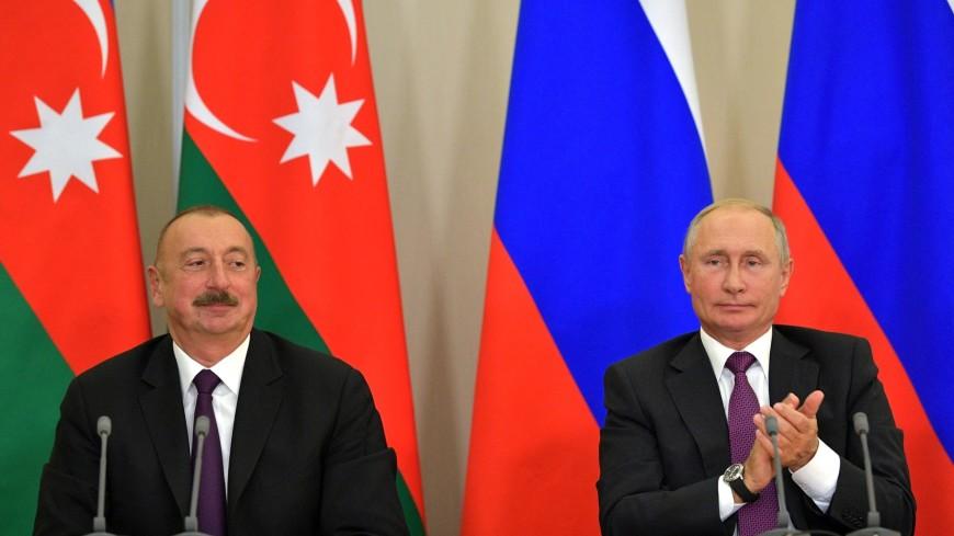 Владимир Путин направил Ильхаму Алиеву поздравительное письмо в честь Дня Республики