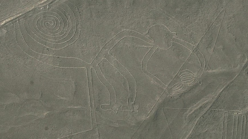 В индийской пустыне заметили крупнейший в мире геоглиф