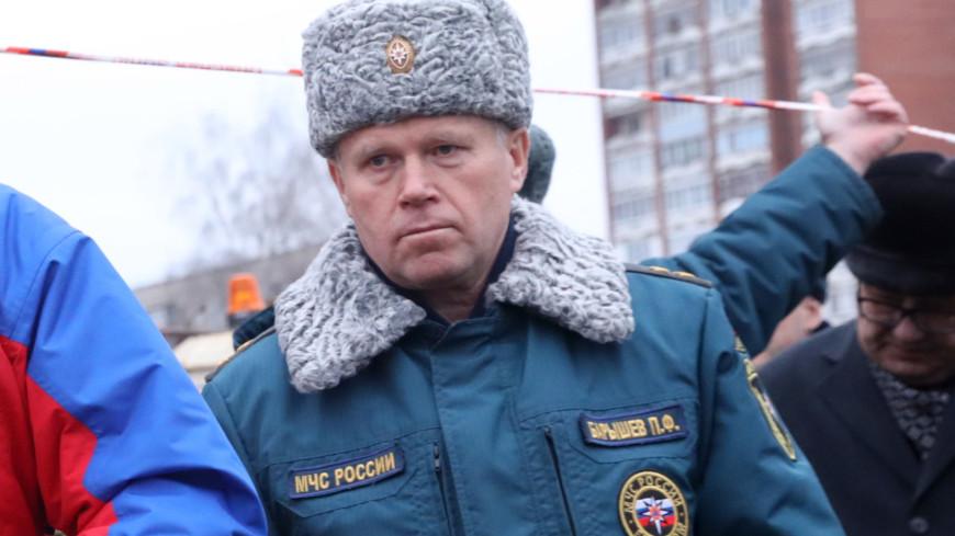 Путин освободил от должности заместителя главы МЧС Павла Барышева