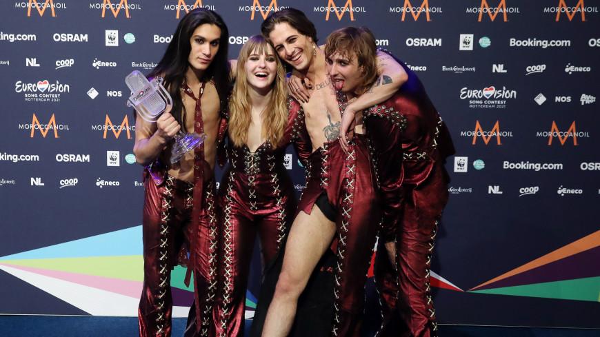 Группа Maneskin из Италии выиграла «Евровидение»
