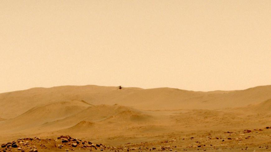 Вертолет NASA совершит шестой полет на Марсе