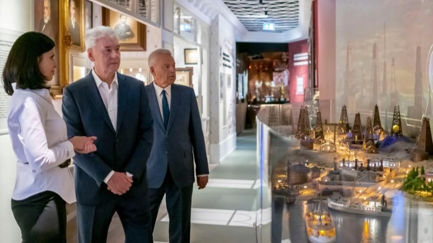 В центре Москвы появился музей нефти