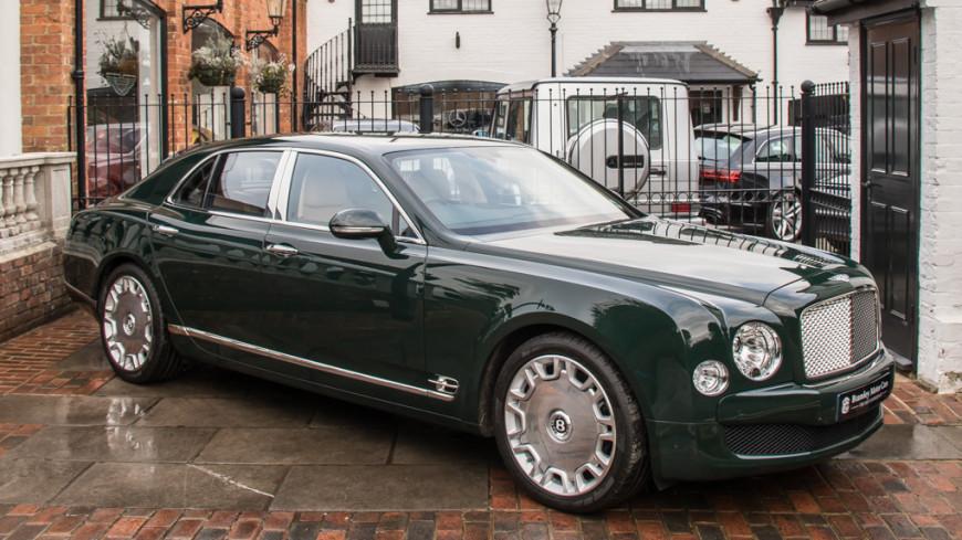 В Великобритании продается Bentley, на котором ездила Елизавета II