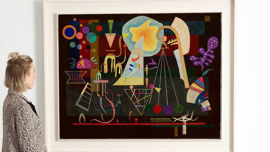 Хранившуюся полвека в частной коллекции картину Кандинского выставили на аукцион