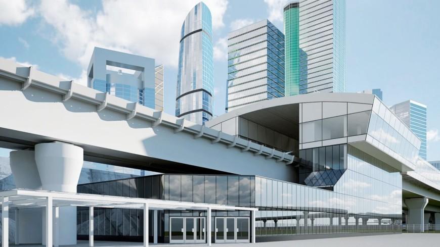 В Москве завершается монтаж самой длинной железнодорожной эстакады