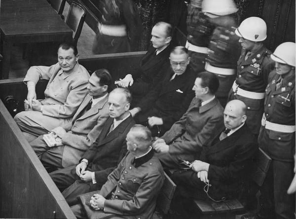 Казнь в Нюрнберге: как умирали и спасались бонзы Третьего рейха