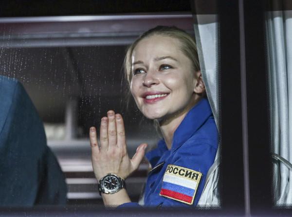Пересильд призналась, что работала в космосе «на грани возможностей»