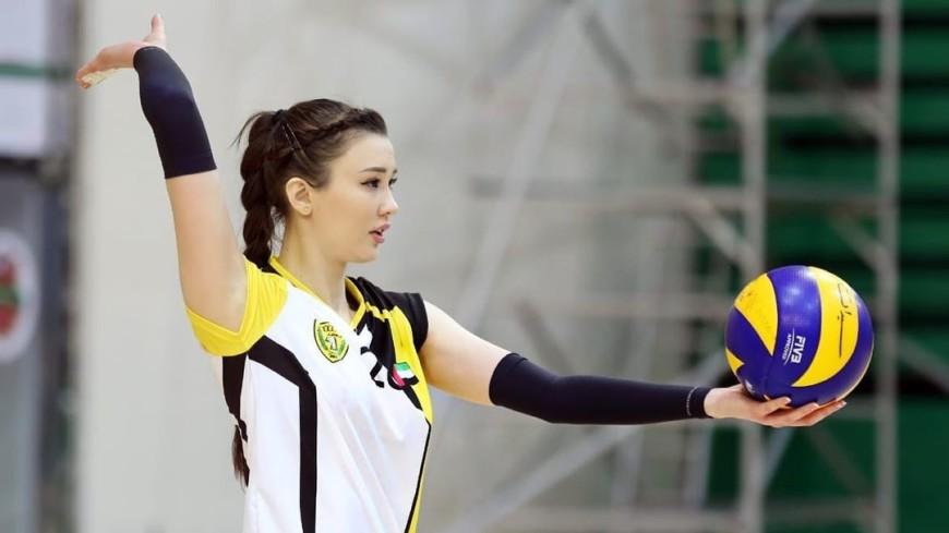 Казахстанская волейболистка Сабина Алтынбекова стала мамой