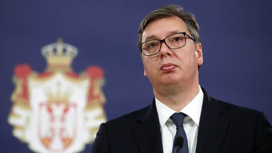Президент Сербии выехал на разграничительную линию с Косовом из-за беспорядков