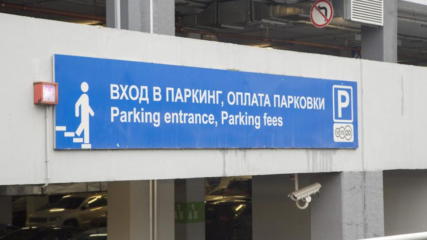 Приложение для оплаты парковок запустят в Московской области