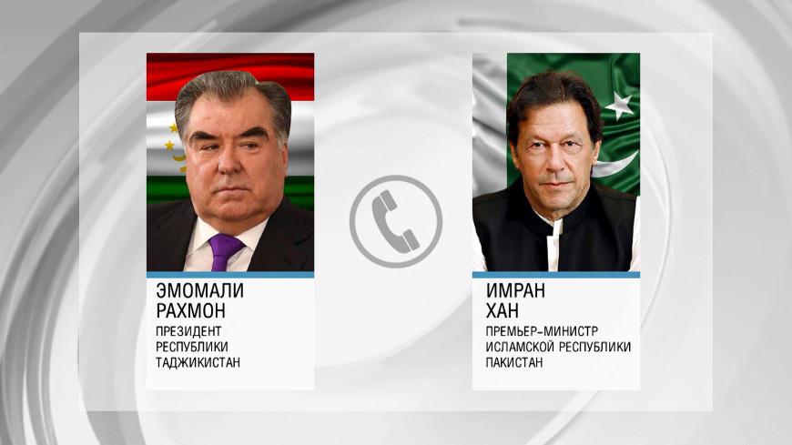 Региональная безопасность: Эмомали Рахмон обсудил с премьером Пакистана ситуацию в Афганистане
