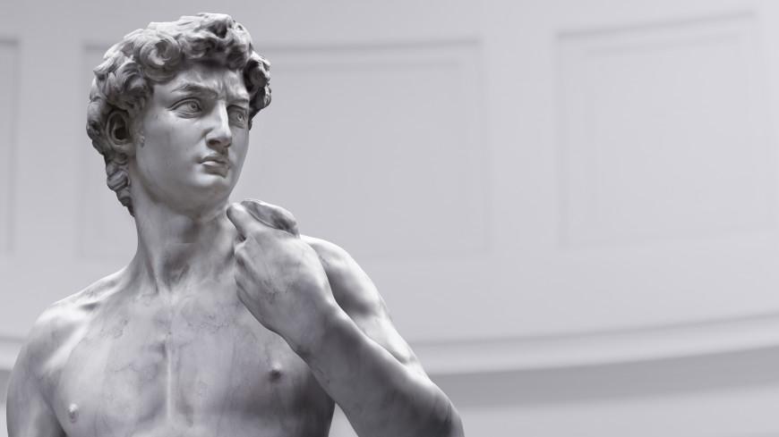 На Expo 2020 в Дубае выставили копию статуи Давида с прикрытыми гениталиями