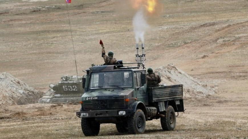 В Монголии замечен Mercedes-Benz c зенитной установкой