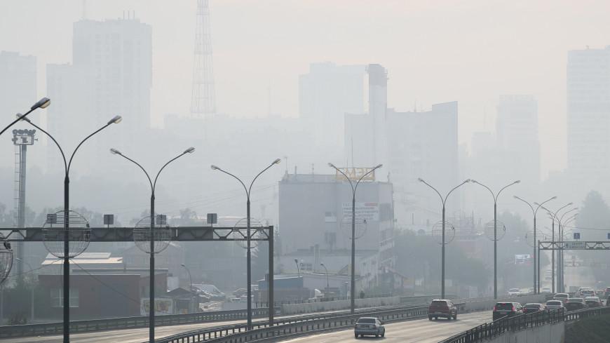 Из-за сильного смога перекрыты два участка трассы Екатеринбург – Шадринск – Курган