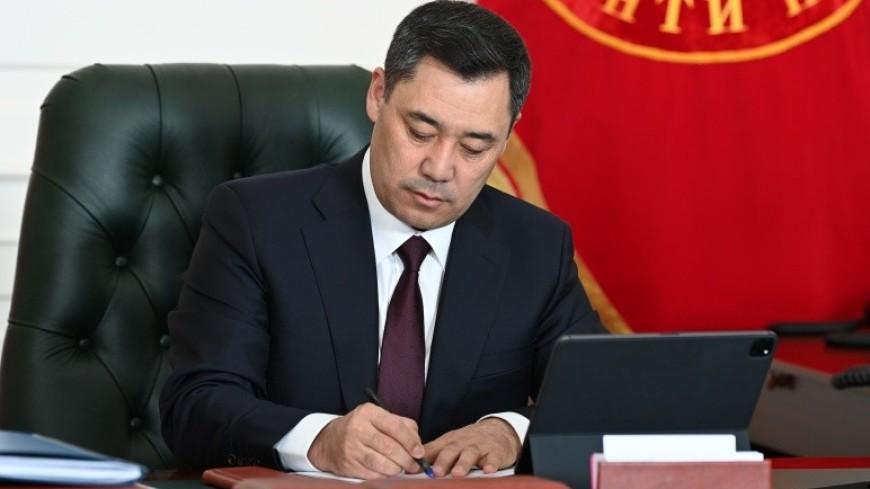 Садыр Жапаров отправил в отставку правительство Кыргызстана