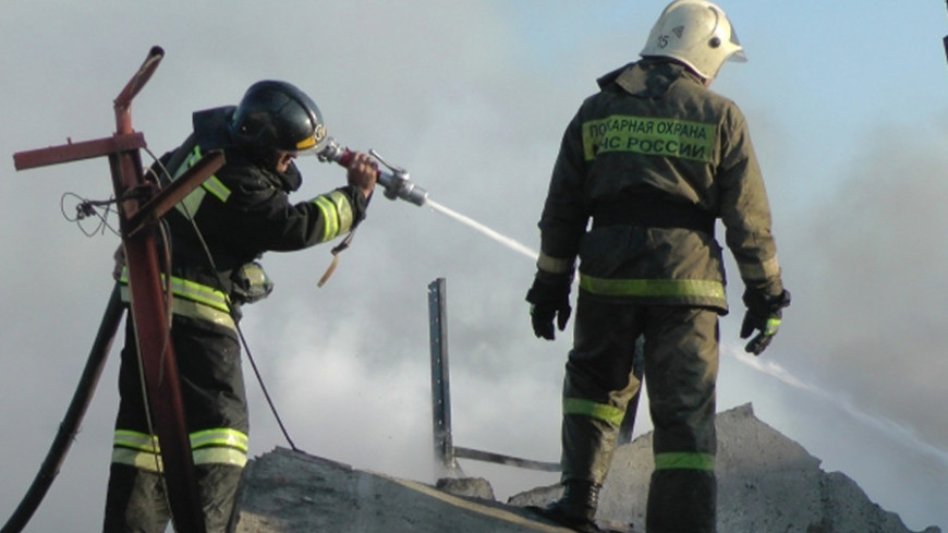 Крупный пожар в камчатском селе потушили