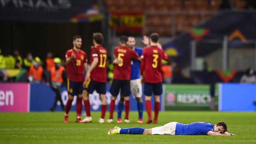 Сборная Испании обыграла Италию и вышла в финал Лиги наций