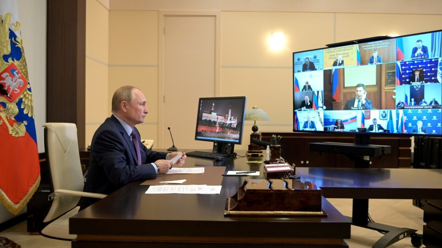 Путин высказался об идее увеличения поставок газа через Украину