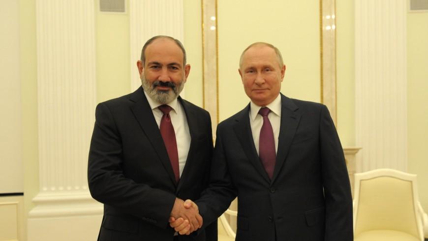 Пашинян назвал встречу с Путиным продуктивной
