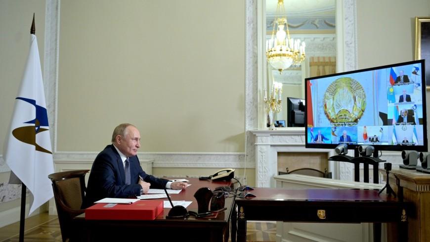 Путин выступил с предложением унифицировать стандарты в сфере углеродной отчетности ЕАЭС