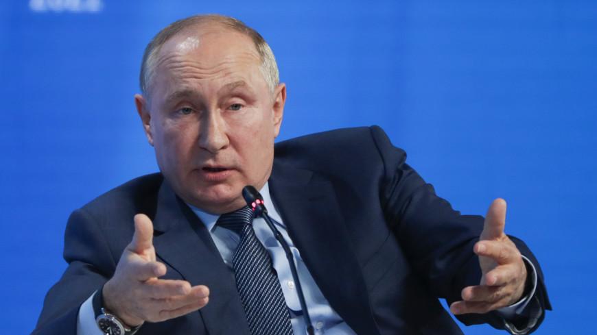 Путин уверен, что Россия исчерпала свой лимит на революции