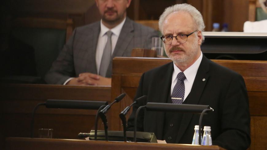 Президент Латвии сдал положительный тест на COVID-19