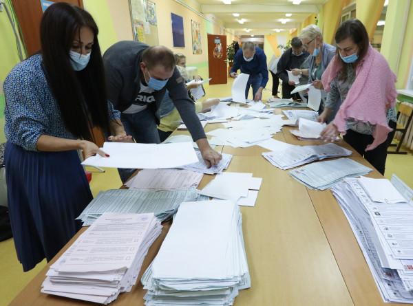 Итоги выборов: какие партии предварительно проходят в Госдуму?
