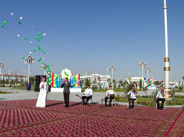 Все для жителей и гостей Ашхабада: парк «Лачин» открыли в столице Туркменистана