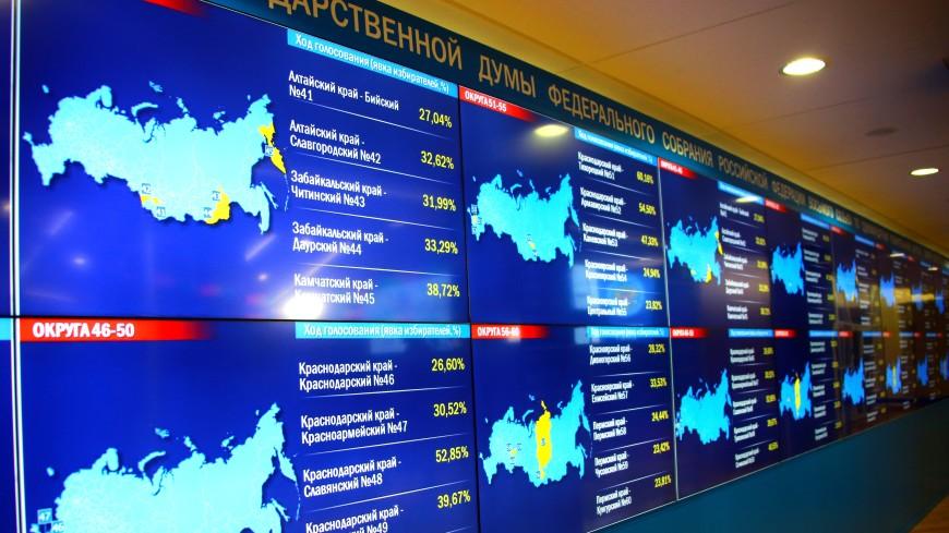 ЦИК: Явка на выборах в Госдуму по России на 10:00 мск составила 35,69%