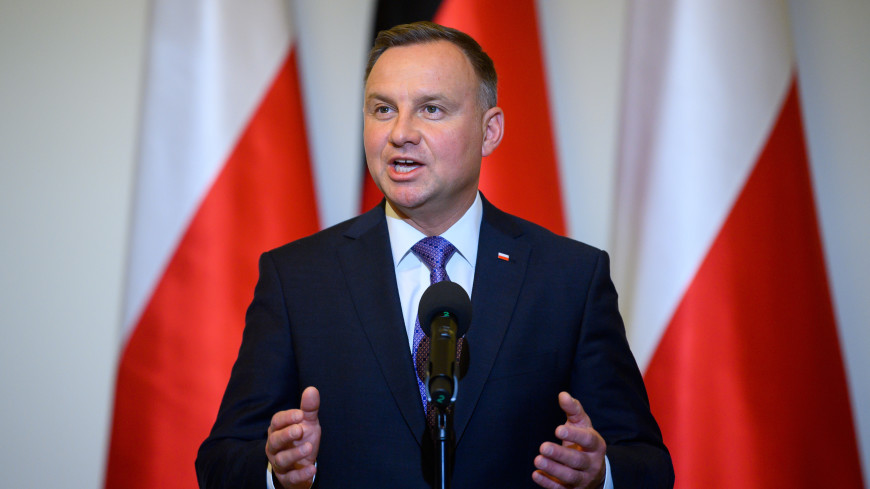 Президент Польши назвал Байдена Трампом