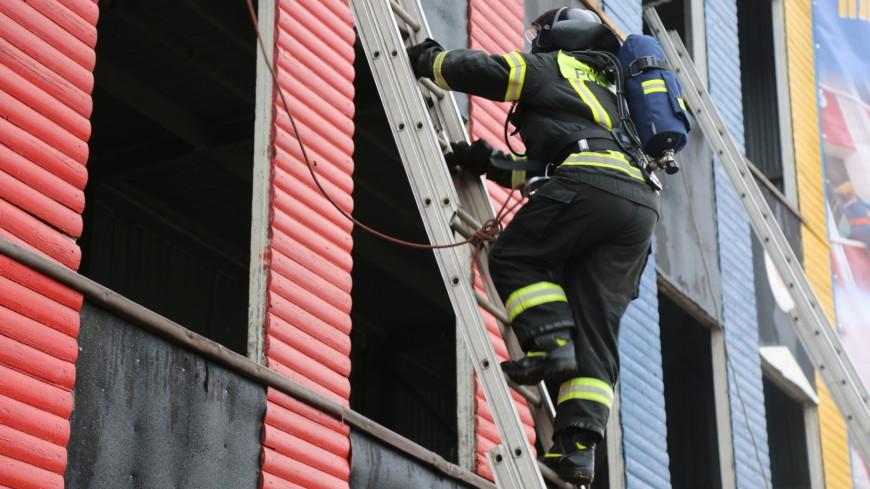 В МЧС России определили лучшего пожарного и лучшегоначальника караула страны