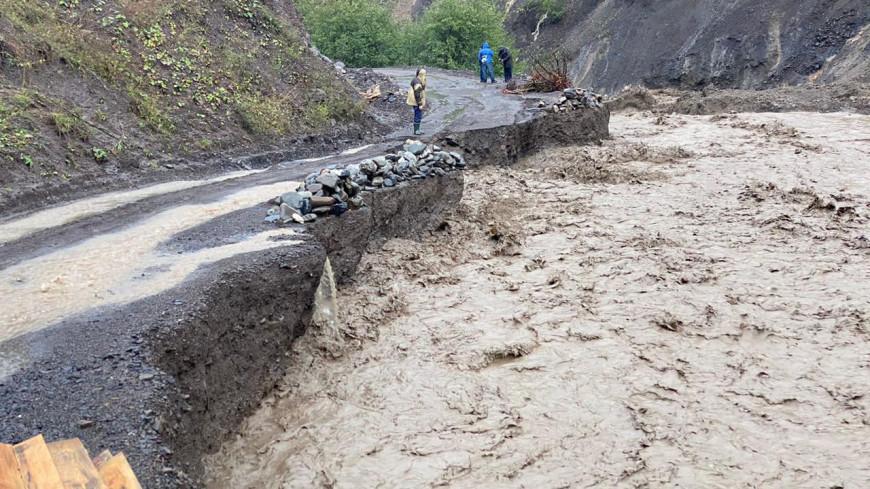 Все плывет: продолжительные дожди вызвали подтопления в Дагестане