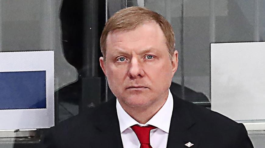 Алексей Жамнов назначен главным тренером сборной России по хоккею