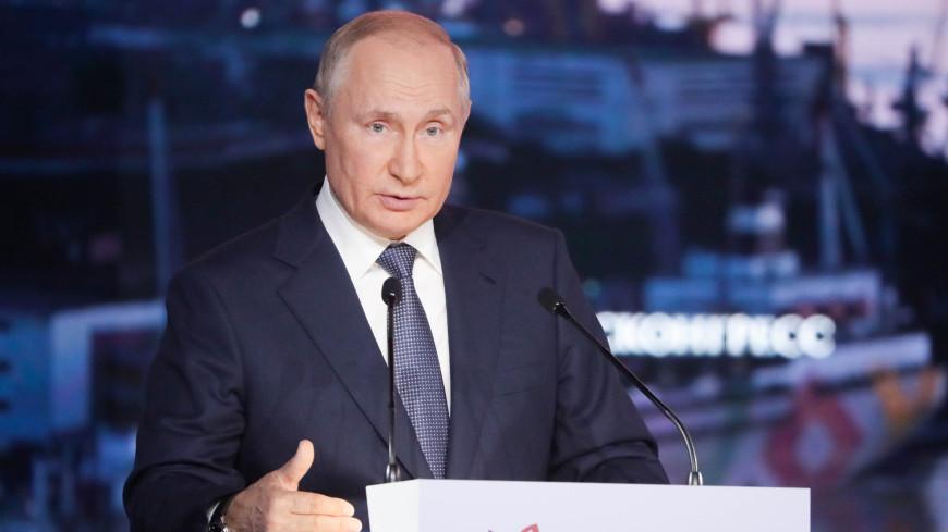 Путин на ВЭФ: Беспрецедентный набор налоговых стимулов появится на Курилах