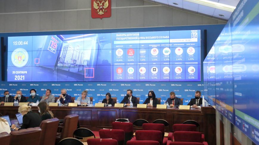 Общая явка на выборах в Москве после обработки 100% протоколов составила 50,3%