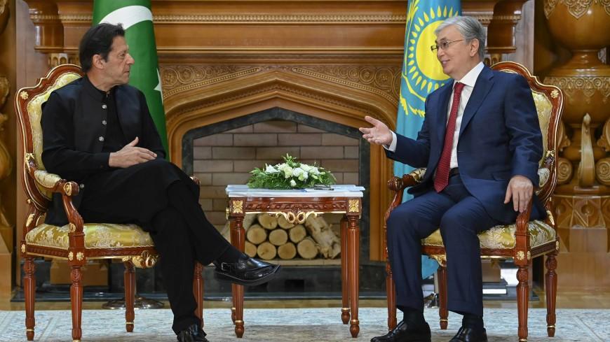Президент Казахстана и премьер Пакистана обсудили сотрудничество стран и Афганистан
